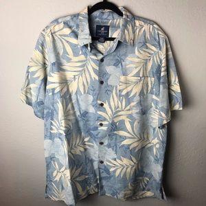 Caribbean Joe tropical 100% Silk short XL